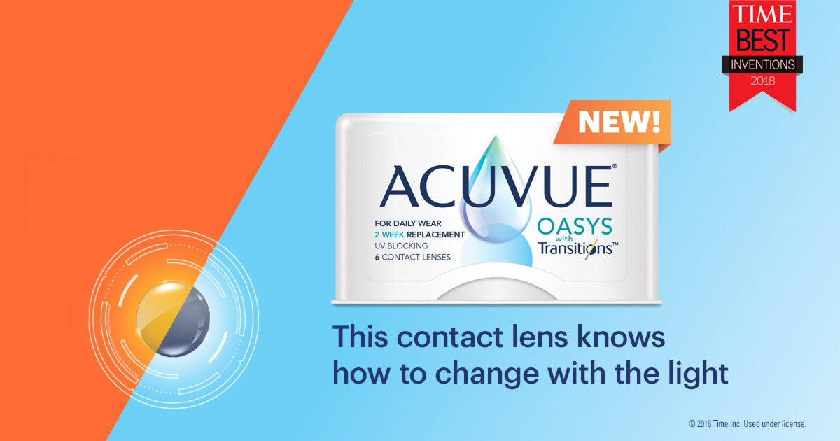 Acuvue Transition Contacts