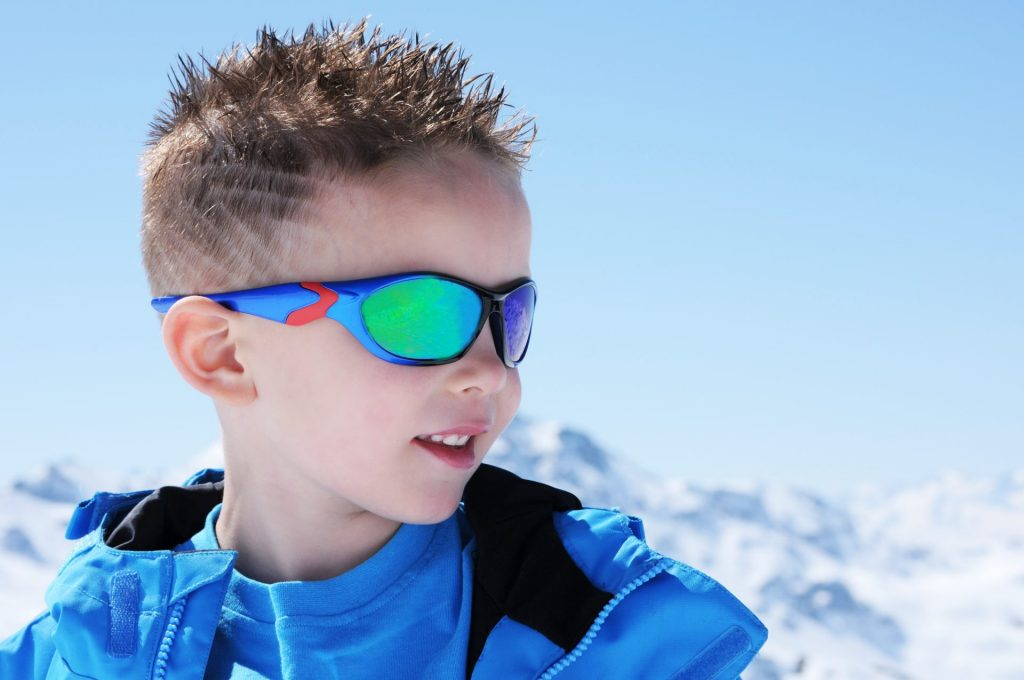 Eye Protection in Winter: Children's Sunglasses & UV Protection on the Slopes